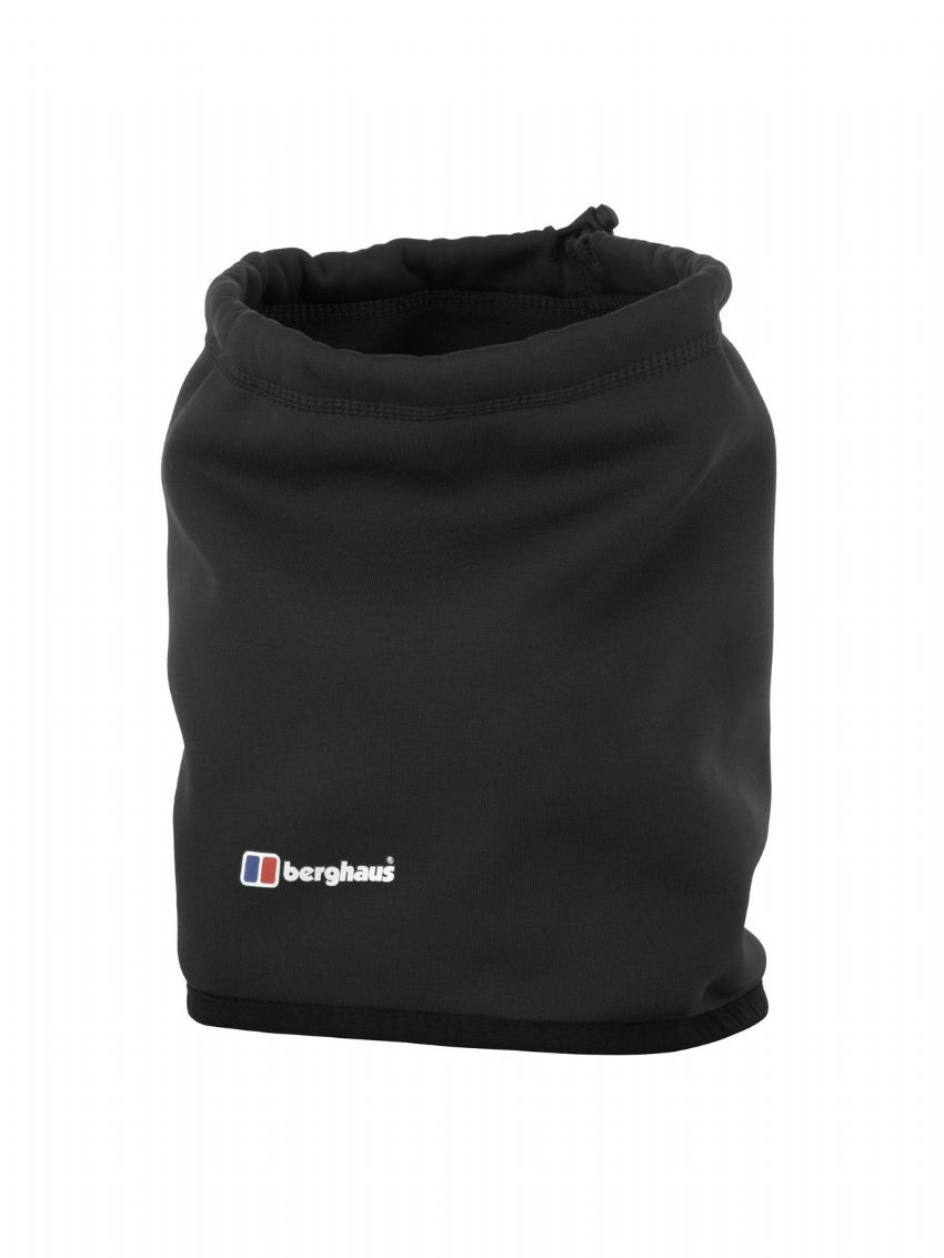 Berghaus Unisex Powerstretch Neck Gaiter - Polartec - Warm - Black